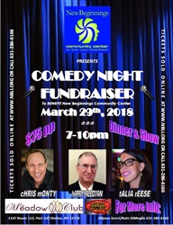 Comedy Night 2018 Fundraiser