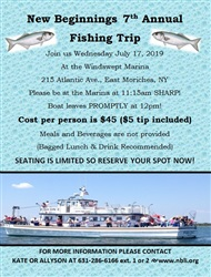 Fishing Trip 2019 - Wednesday July 17th, 2019