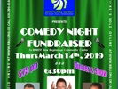 Comedy Night 2019 Fundraiser March 14th, 2019